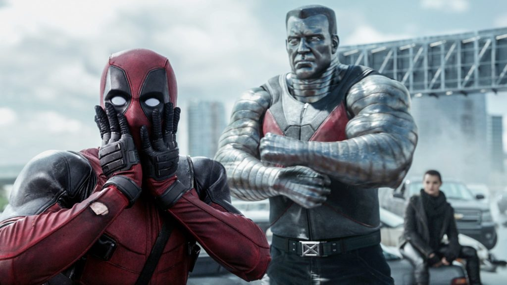 Barechested Dead Pool 3
