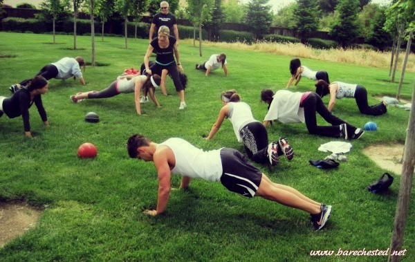 Barechested Bootcamp