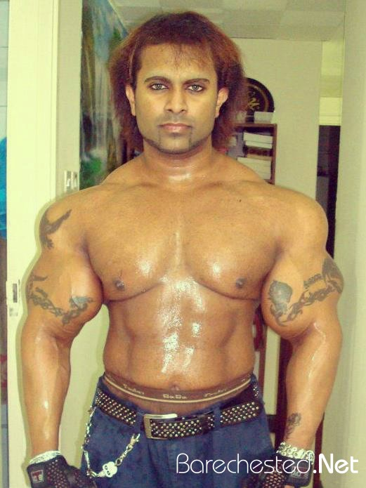 Barechested Suroor Sulthan Body