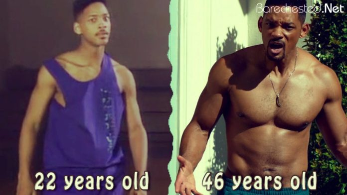 Barechested Will Smith