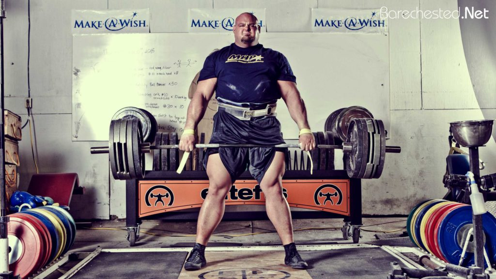 Barechested BRIAN SHAW