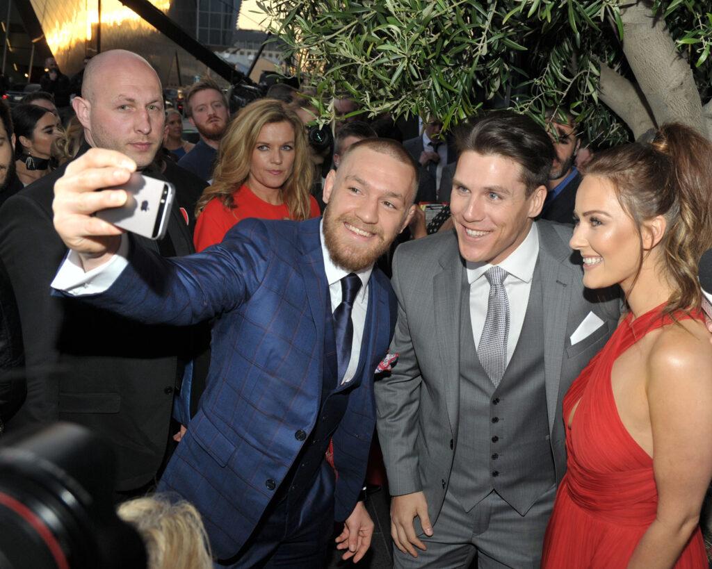 Barechested Conor McGregor's Bodyguard