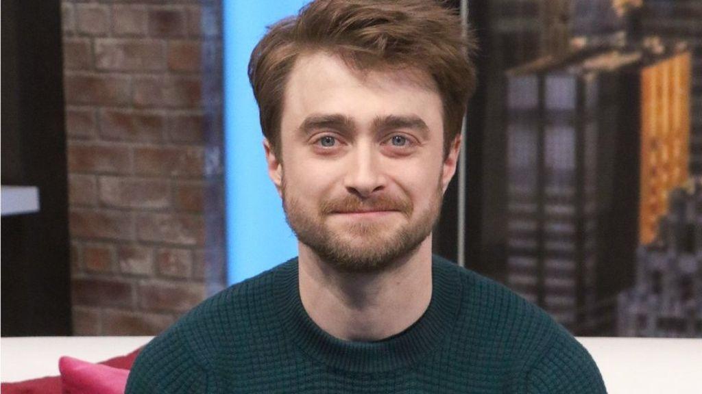 Barechested Daniel Radcliffe