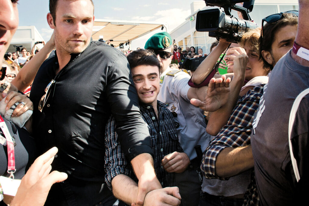 Barechested Harry Potter's Bodyguard