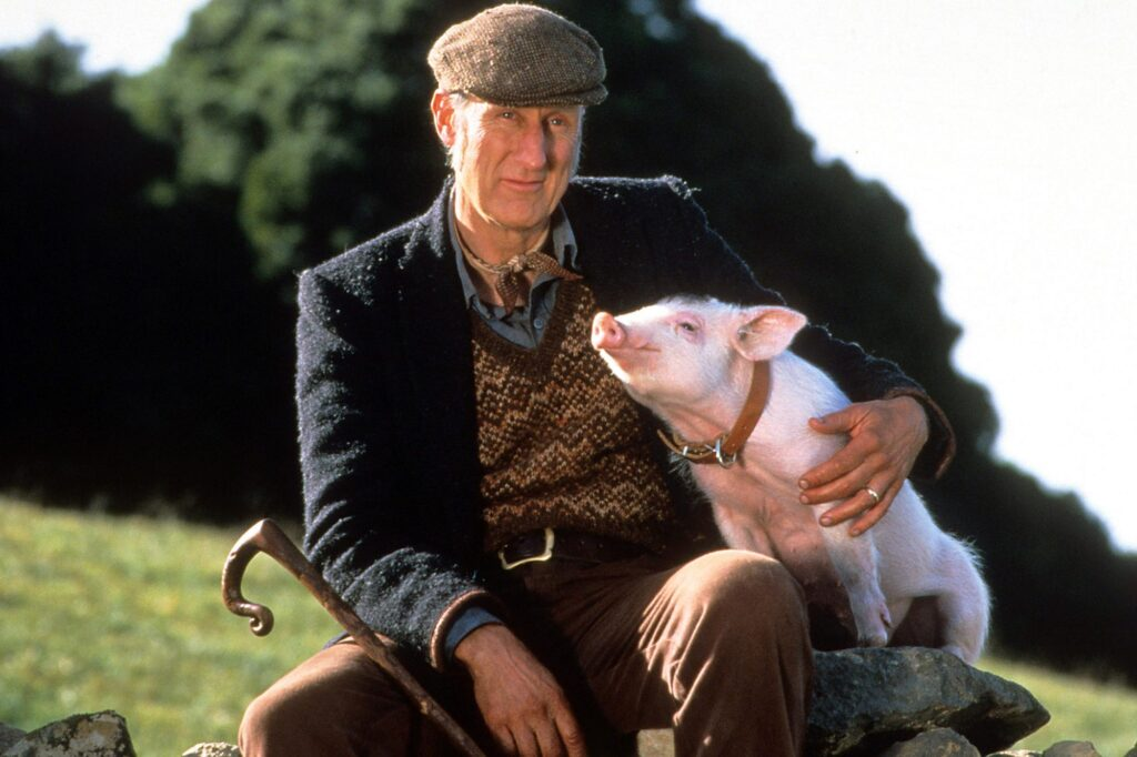 Barechested James Cromwell
