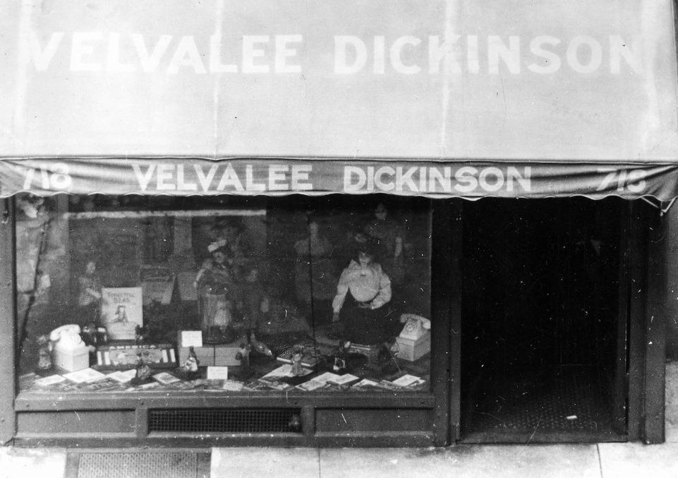 Barechested Velvalee Dickinson
